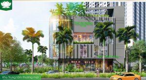 Tòa trung tâm thương mại Phúc Yên Central Mall thuộc dự án Phúc Yên Prosper Phố Đông Tô Ngọc Vân TP. Thủ Đức